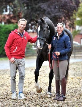 UK's Charlotte in Bordeaux Konigs here with Carl Hester and Valegro. (Photo Credit: http://www.birminghammail.co.uk)