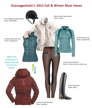 Dressageaholic's 2013 Autumn & Winter MUST Haves