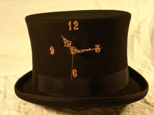 top hat clock