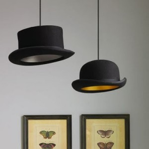 Top Hat Pendant Light (Source: http://scraphacker.com)